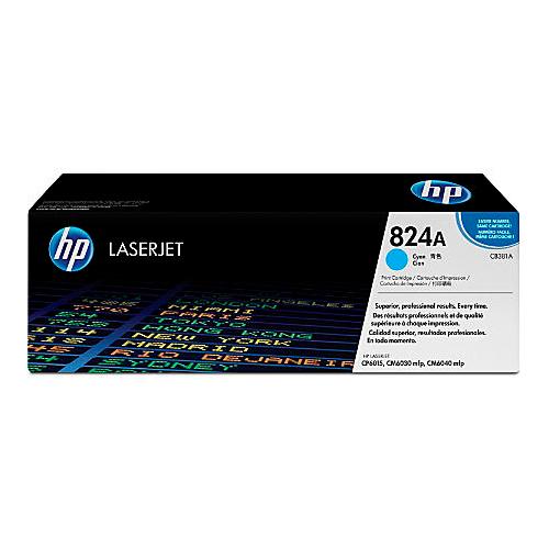 Color: Cian, Compatibilidad: HP LASERJET COLOR CP6015/CM6030/CM6040, Rendimiento: 21000 páginas.