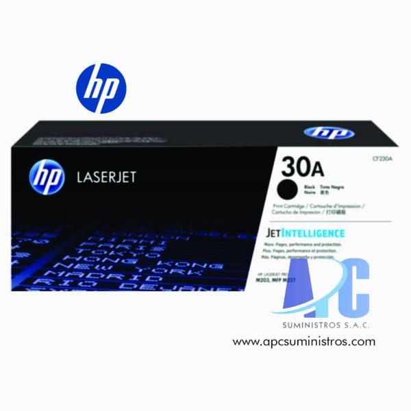 TONER HP CF230A (30A) Color: Negro, Compatibilidad: M203DW de mejor tecnologia y precios con garantia y confianza