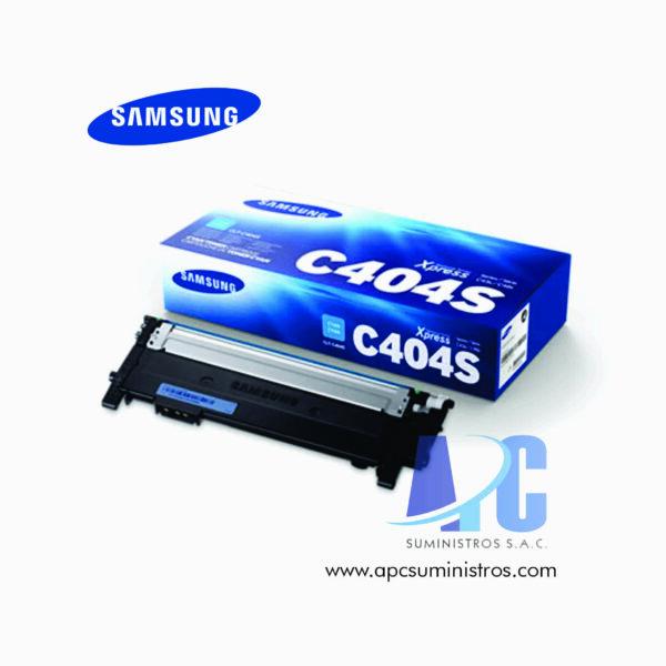 TONER SAMSUNG CLT-C404S ( HP ST970A) rendimiento: 1,000 págs., color: cyan ultima tecnologia con garantia y confianza