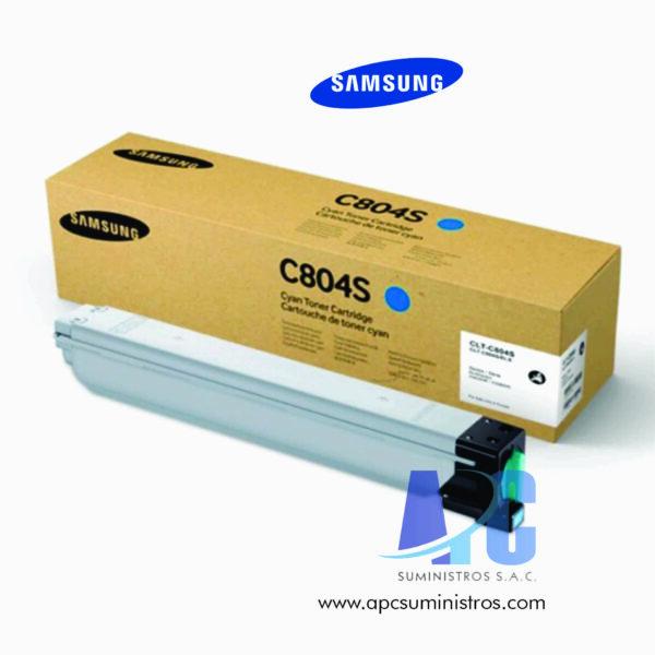 TONER SAMSUNG CLT-C804S (HP SS546A) Rendimiento: 15,000 páginas: Compatibilidad: SL-X3220NR, X3280NR