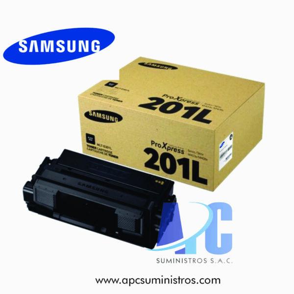 TONER SAMSUNG MLT-D201L (HP SU872A) Rendimiento: 20,000 pág., Compatibilidad: Impresora láser multifunción Samsung ProXpress SL-M4080FX: color negro