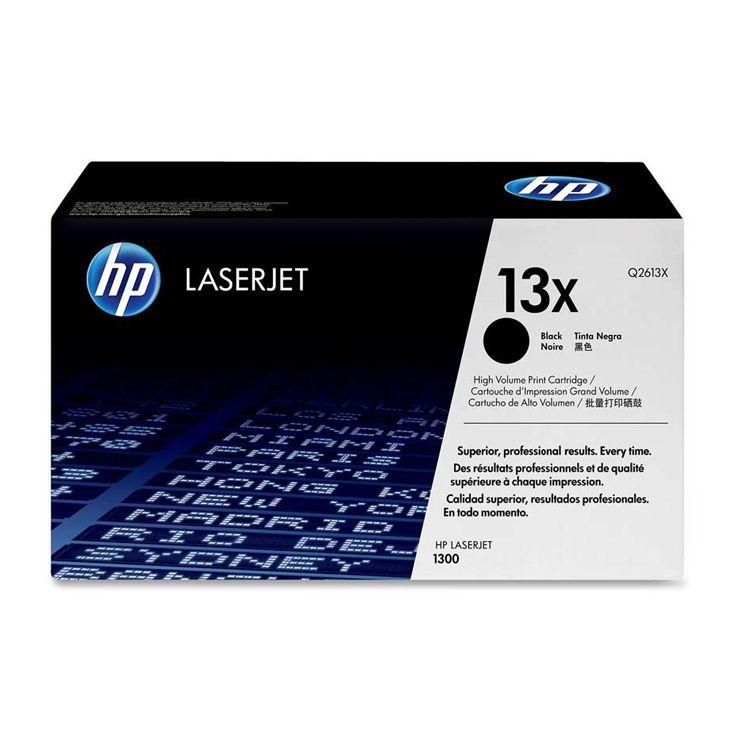 TONER HP Q2613X 13X L.J. 1300 rendimiento 4,000 PAG. para Serie HP LaserJet 1300