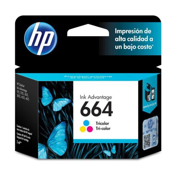 cartucho para impresora hP DeskJet ink advantage HP DeskJet 1115, 2134, 2135, 2675, 3635, 3775,3785, 3787, 3789, 3835, 4535, 4675, 5075, 5275 rendimiento 100 paginas