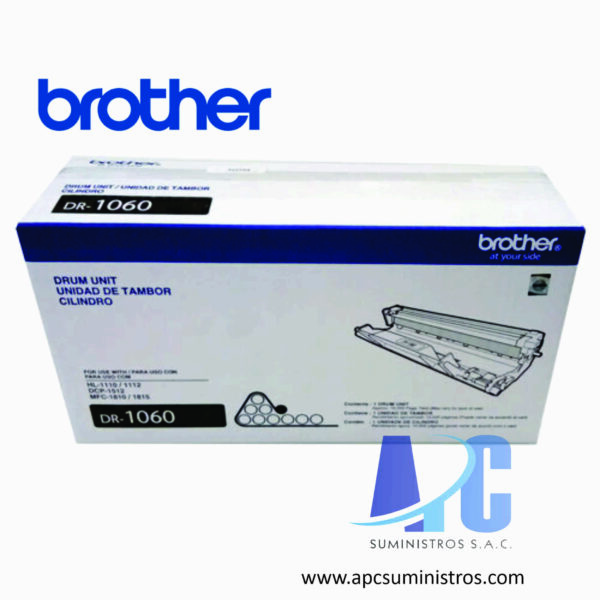 TONER BROTHER TN-1060 Tecnología de impresión: Láser, Color: Negro, Rendimiento: 1000 pgs. Aprox. Compatibilidad: HL-1112 / DCP-1512.