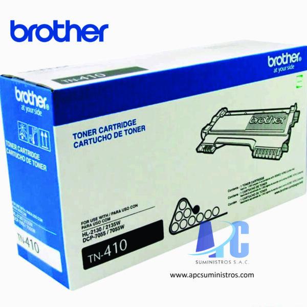 TONER BROTHER TN410 Tóner para HL2130 / DCP7055. Rendimiento 1,000 paginas: color negro garantia y confianza al mejor precio.