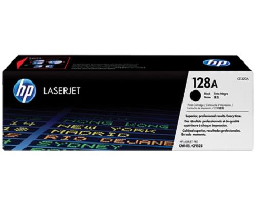 TONER HP CE320A (128A) L.J. CM1415 NEGRO 2000PG HP LaserJet Pro CM 1410 CM 1415 CM 1415FN CM 1415FNW CP 1525 CP 1525N CP 1525NW