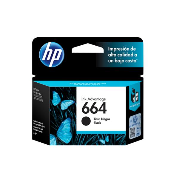 cartucho negro para impresora hP DeskJet ink advantage HP DeskJet 1115, 2134, 2135, 2675, 3635, 3775,3785, 3787, 3789, 3835, 4535, 4675, 5075, 5275 rendimiento 120 paginas