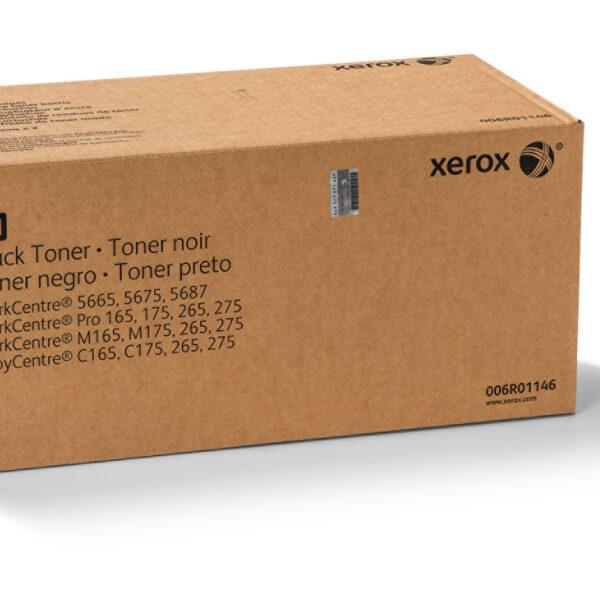 TONER XEROX 006R01146 X2 Paquetes de Tóner con botella de residuo, Compatibilidad: WorkCentre 5665 / 5675 / 5687, Rendimiento: 90000 páginas.