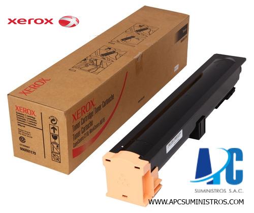 TONER XEROX 006R01179 M118 Compatibilidad: WorkCentre M118/M118i, Rendimiento: 11000 páginas.