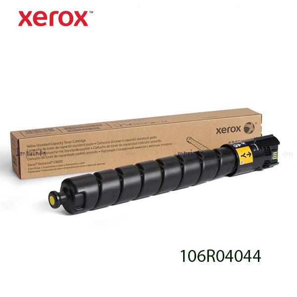 TONER XEROX 106R04044 COLOR AMARILLO PARA C8000 7,600 Páginas