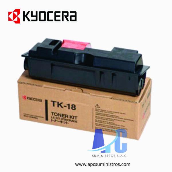 TONER KYOCERA 370PU010 Negro, Compatibilidad: KM-1500/1815 la, Rendimiento: 6000 páginas.