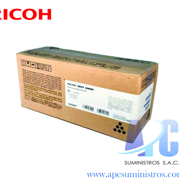 TONER RICOH 418126 Compatibilidad: Ricoh SP C252DN/C262DN, Color: Negro, Rendimiento: 6,000 Paginas