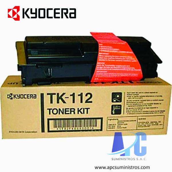 TONER KYOCERA TK-112 Color: Negro, Compatibilidad: fs-720/ fs-820/ fs-920, Rendimiento: 6000 páginas
